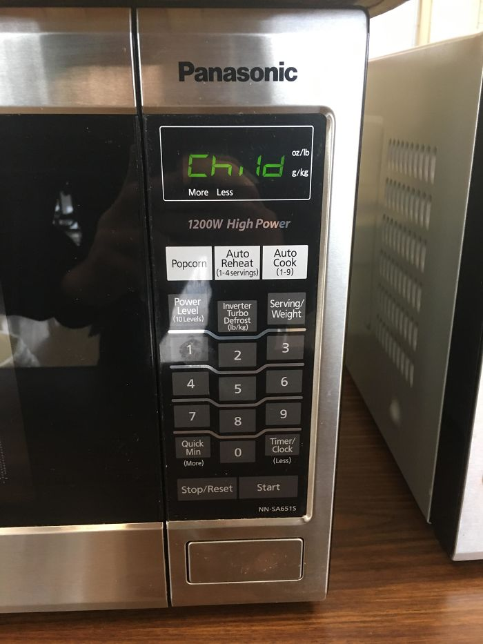 This Microwave Looks Like It's Demanding A Sacrifice