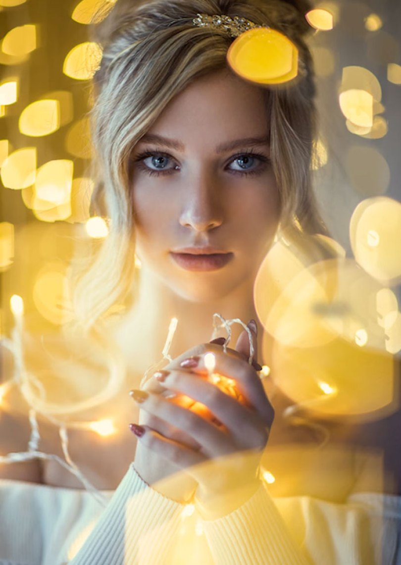 How To Take Amazing Christmas Light Portraits In An Ordinary Bedroom 5a22aea132561  700 - Tutorial de fotografia com linda modelo