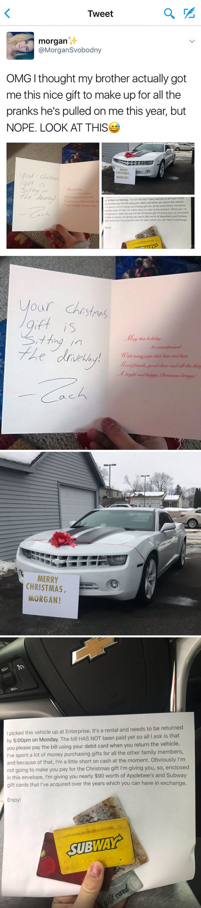 70+ People Who Hilariously Trolled Others With Their Christmas Gifts ...
