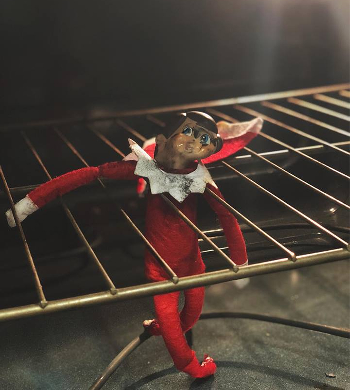 mom lies christmas elf shelf brittany mease 10 5a3a212537765  700 - Mom's Lies About The Elf On The Shelf Backfire Hilariously