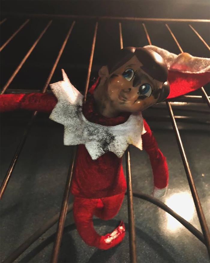 mom lies christmas elf shelf brittany mease 11 5a3a21276a584  700 - Mom's Lies About The Elf On The Shelf Backfire Hilariously