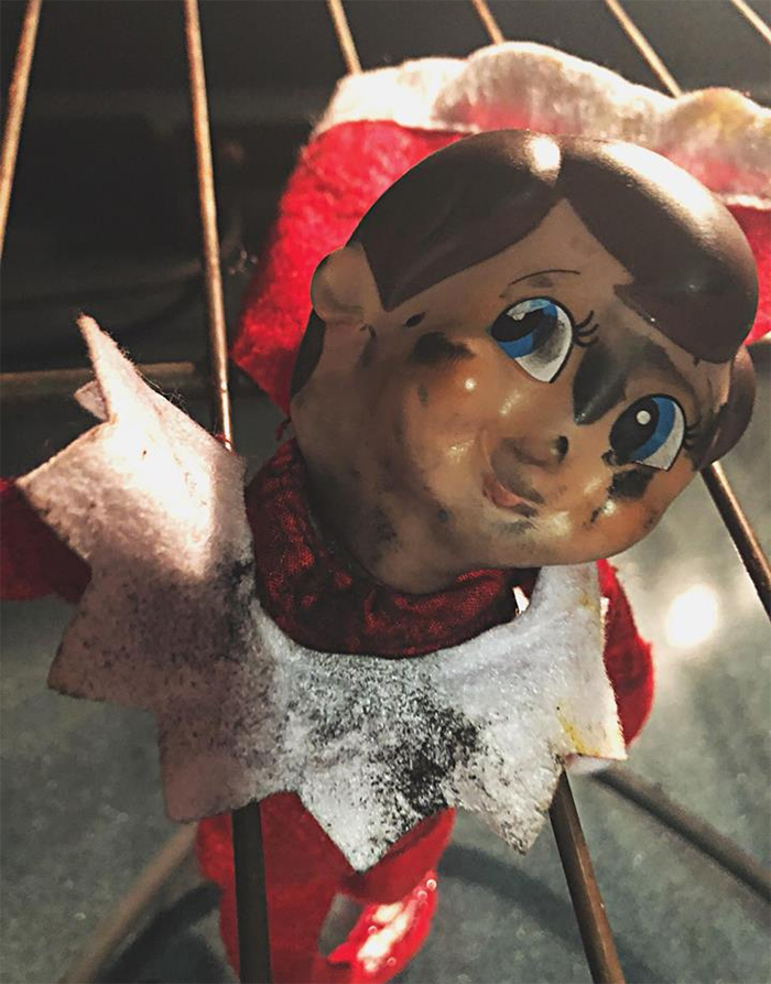 mom lies christmas elf shelf brittany mease 12 5a3a212949480  700 - Mom's Lies About The Elf On The Shelf Backfire Hilariously