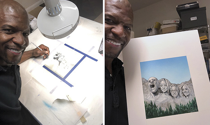 talented artist terry crews 5a3bae3c78a4b  700 - Internet Is Surprised To Realize Terry Crews Is Also A Talented Illustrator, And Here Are Some Of His Artworks