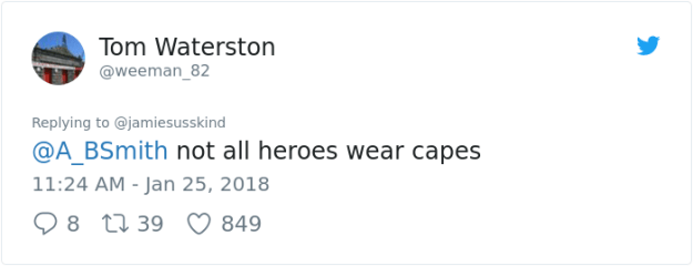 956487815033966592 Commuter Finds A New Hero On London Underground, And His Bravery Will Make You Die Of Laughter Design Random