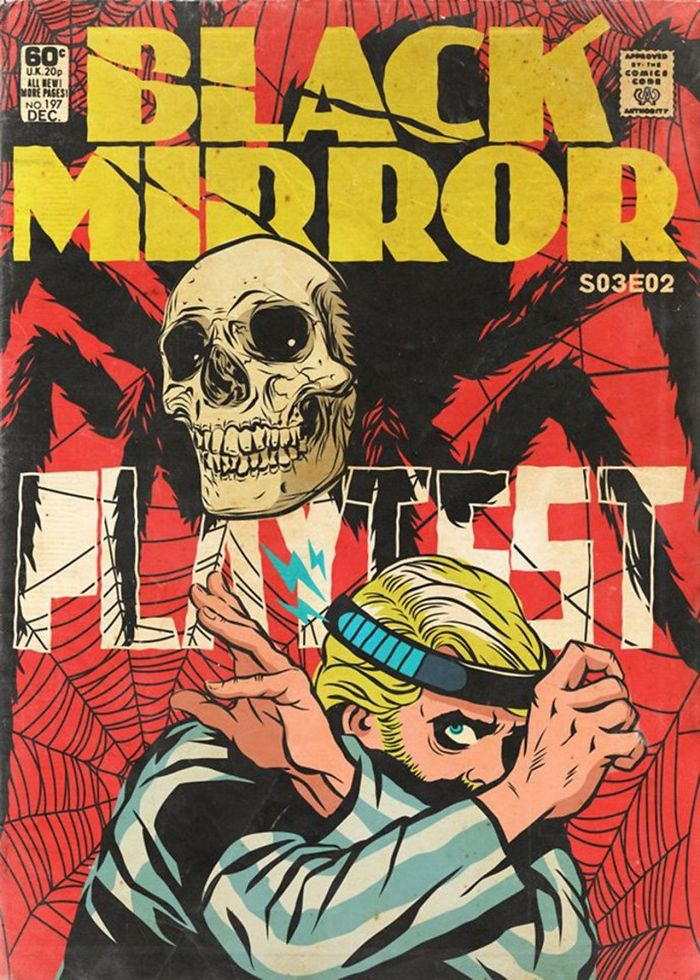 Artist Creates Covers Of Comics Based On Black Mirror Episodes The Result Is Incredible