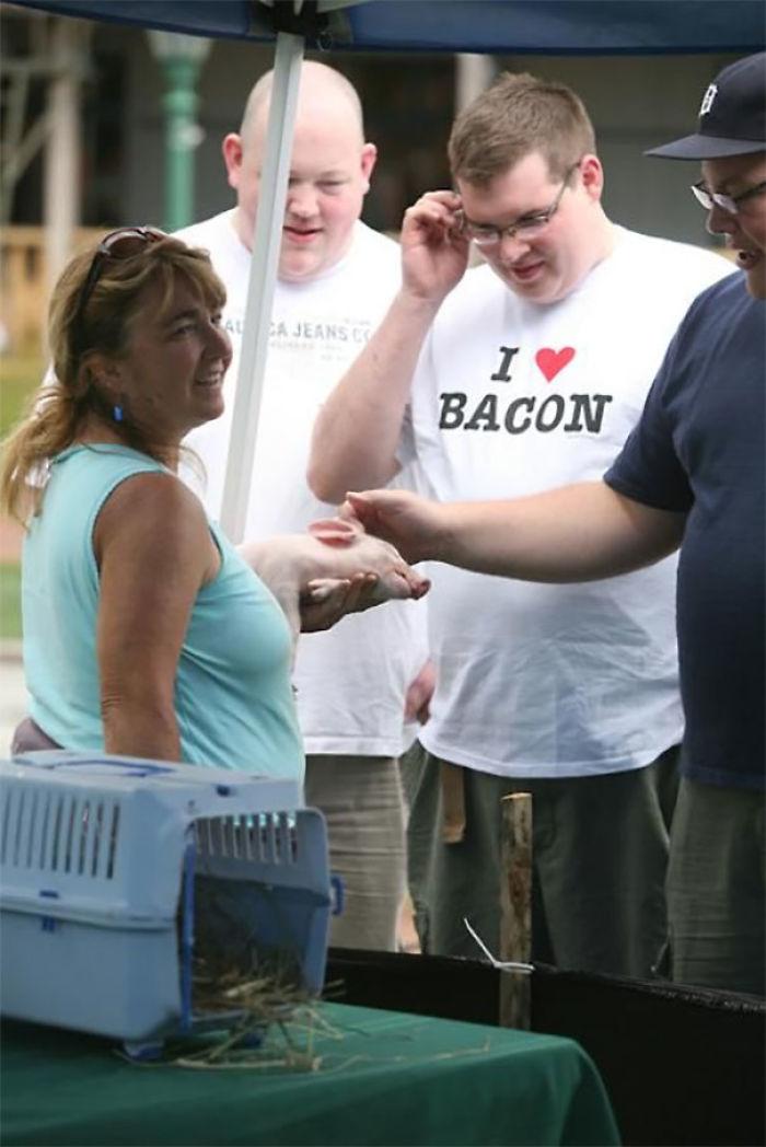 I Hope She Isn't Selling That Piggy