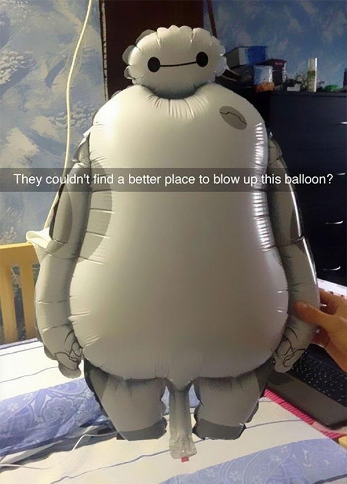 This Unfortunately Designed Kid's Balloon