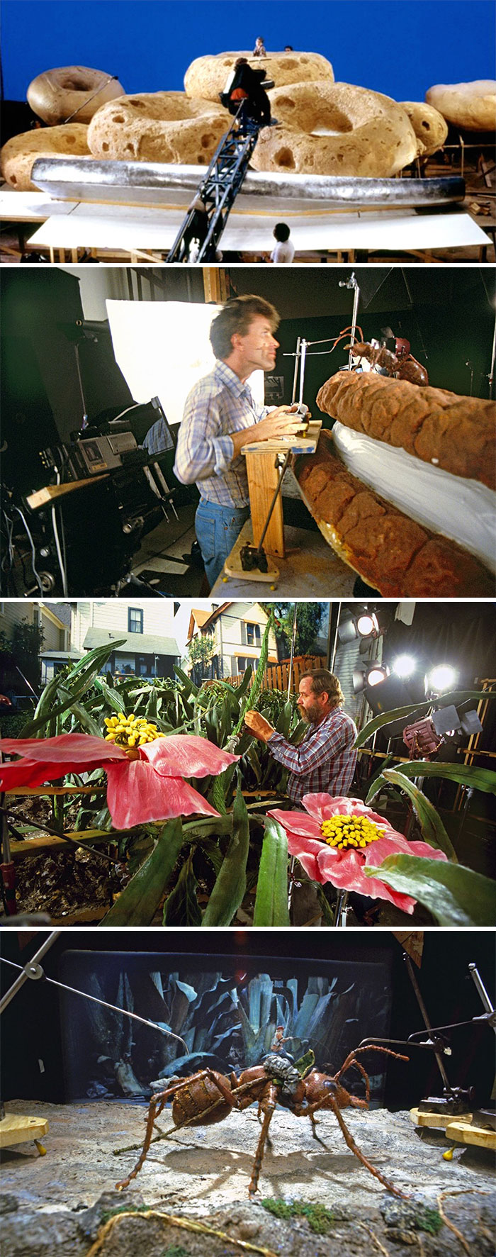movies behind the scenes 102 5a69a13b3b8d7  700 - Por trás das cenas: Foto dos bastidores de filmes que marcaram época