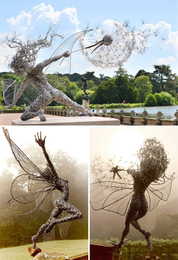 Wire Fairies By Robin Wight