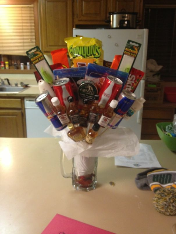 """Sister Made This For Her Boyfriend. It's A """"Bro""""Quet"""