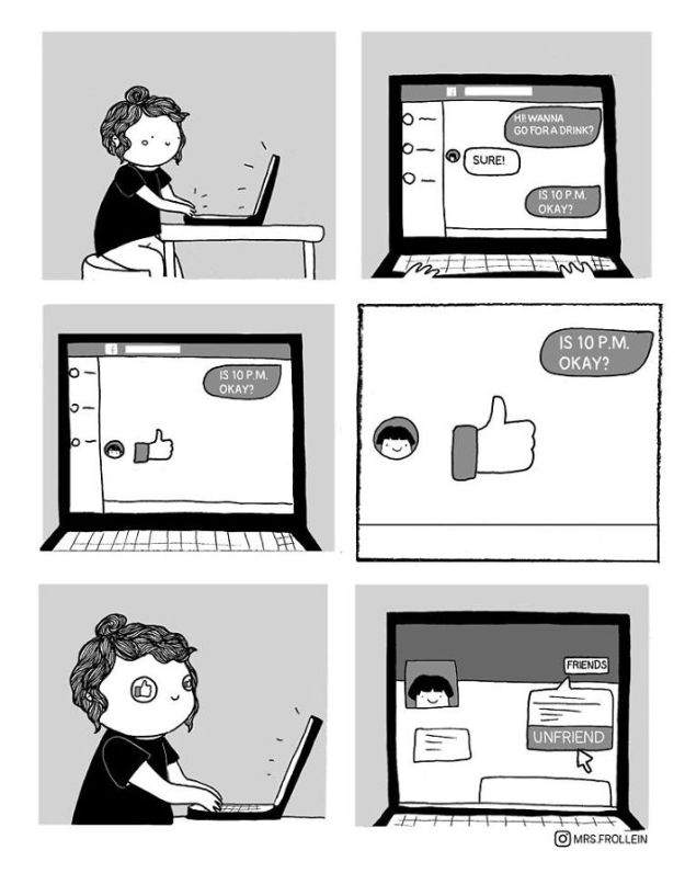 Little-wholesome-comics-about-everyday-life-5a7ab66916937__700 35+ Little Wholesome Comics Inspired By My Relationship With My Boyfriend And My Daily Struggles Design Random