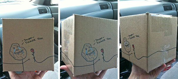 A Valentine's Package I Mailed To A Customer