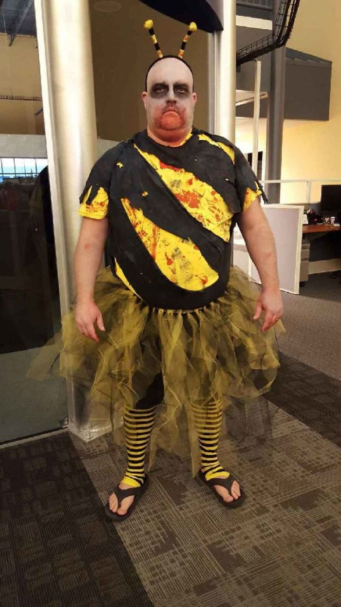 """My Costume Came In 2nd Place """"Zombee"""""""