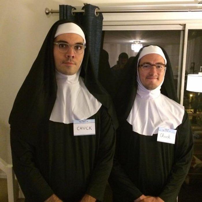 Just A Pair Of Nun Chucks