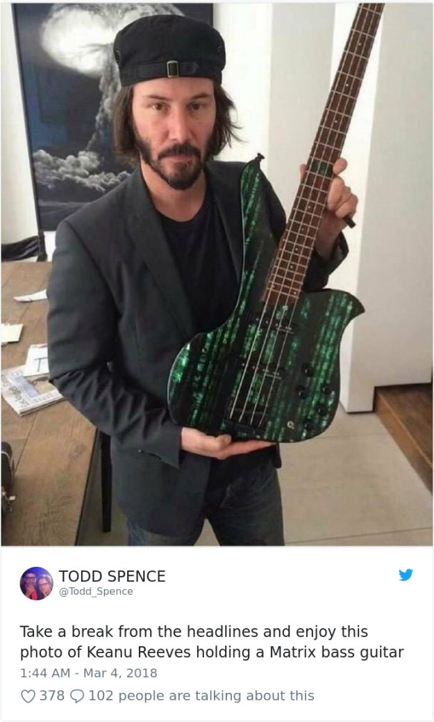 970112758413799424-png__700 The Internet Can't Stop Laughing At Keanu Reeves Doing Things (26 Pics) Design Random