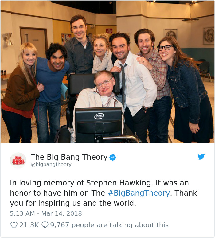 Stephen Hawking Tribute