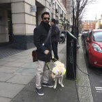 Blind Man Left In 'Tears' After Nobody Gave Up Their Seat For Him And His Guide Dog On The Train