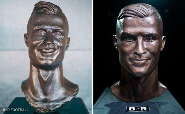 cristiano-ronaldo-new-bust-statue-emanuel-santos-12-5abdf74440e68__700 Internet Laughed At This Guy's First Attempt At Cristiano Ronaldo's Bust, So He Tries The Second Time Art Design Random