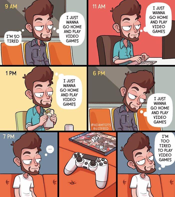 funny-comics-adam-ellis-163-5abddcbfdb17a__700 Comic Artist Adam Ellis Has Quit Buzzfeed, And Here Are 20+ Of His Funniest Comics Design Random