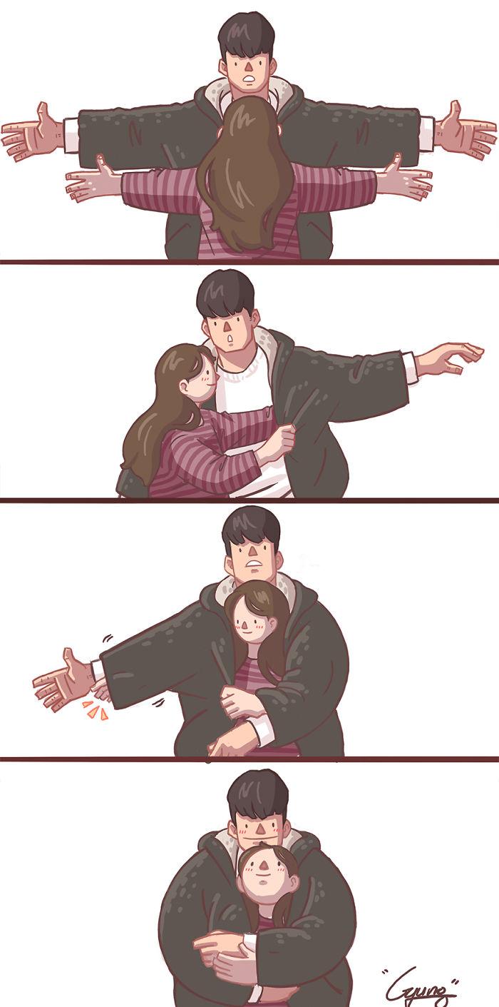 Girlfriend-Boyfriend-Relationship-Illustrations-Gyungstudio