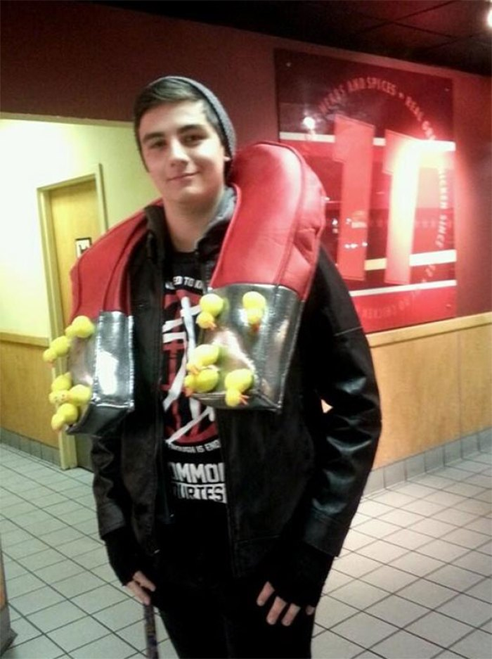 Took A While For Anyone To Figure Out What I Was In My Costume. I Was A Chick Magnet