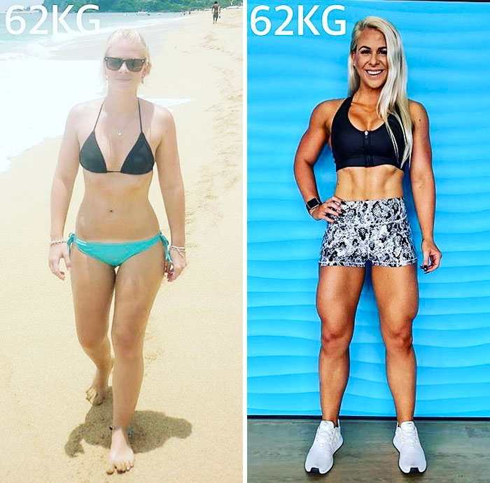 same-weight-fitness-incredible-transformations13-5aab911a2454c__700 28 Before & After Photos That Prove Your Weight Is Meaningless Design Random