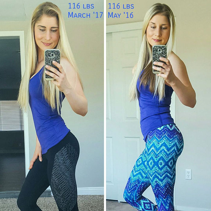 same-weight-fitness-incredible-transformations15-5aab951034daa__700 28 Before & After Photos That Prove Your Weight Is Meaningless Design Random