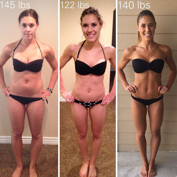 same-weight-fitness-incredible-transformations19-5aab980678c46__700 28 Before & After Photos That Prove Your Weight Is Meaningless Design Random