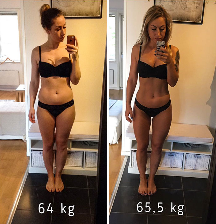 same-weight-fitness-incredible-transformations20-5aab987ce7550__700 28 Before & After Photos That Prove Your Weight Is Meaningless Design Random