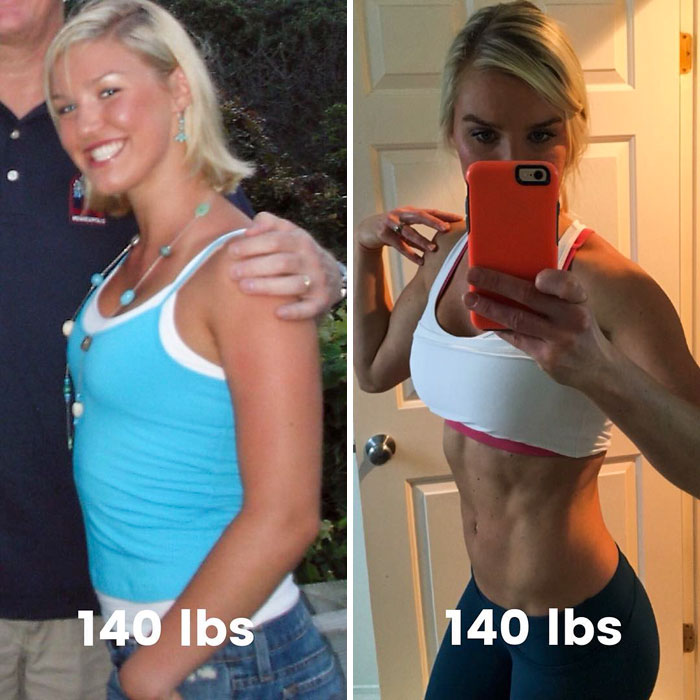 same-weight-fitness-incredible-transformations27-5aab9b9761f16__700 28 Before & After Photos That Prove Your Weight Is Meaningless Design Random