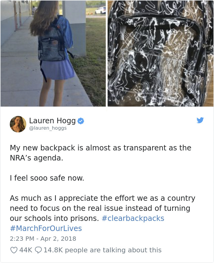 980812862162657281-png__700-5ac482d301f03__700 Parkland Students Are Trolling Their Mandatory Clear Backpacks By Carrying Things That Scare Conservatives The Most Design Random