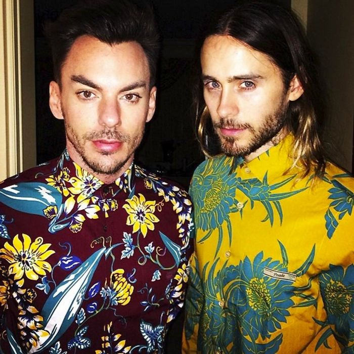 Jared Leto With His Brother Shannon