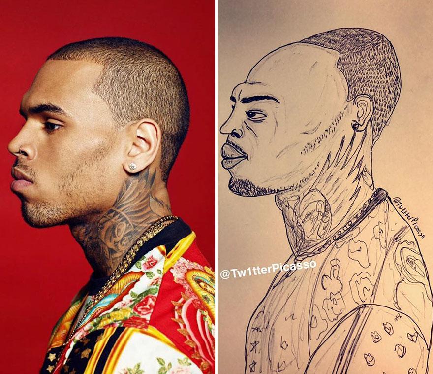 Chris Brown Fan Art