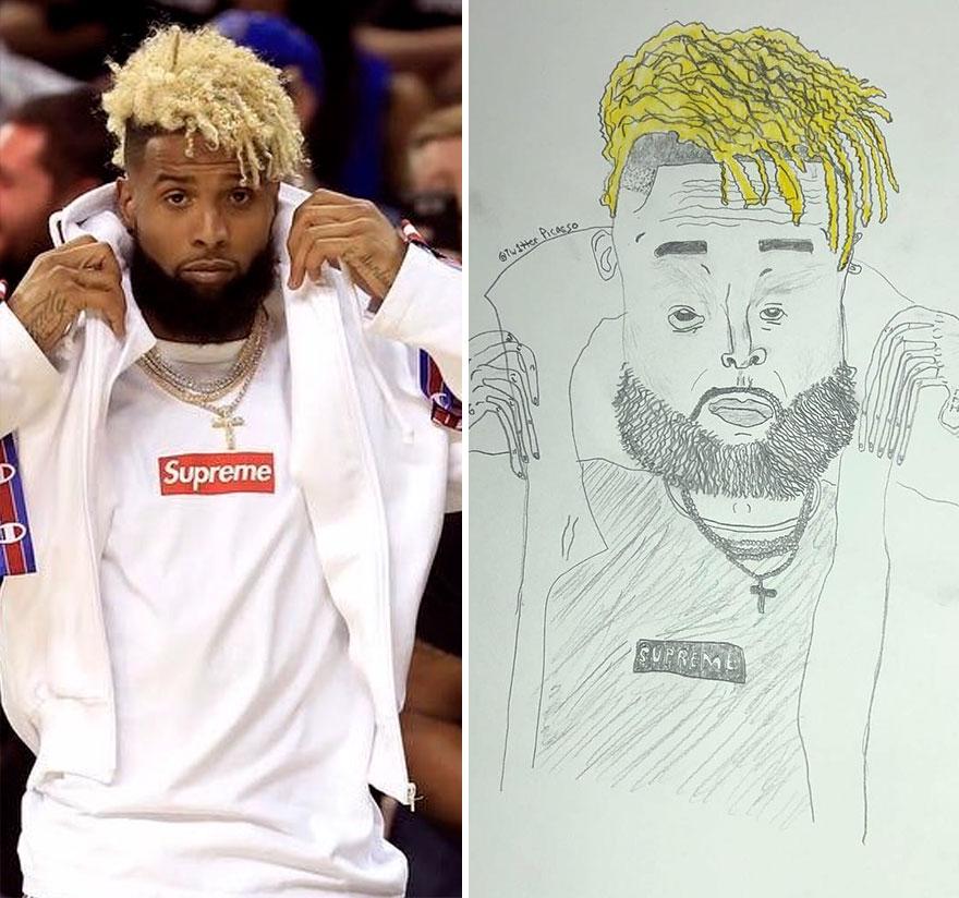 Odell Beckham Jr Fan Art