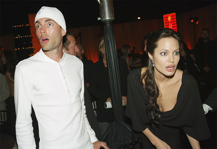 Angelina Jolie With Her Brother James Haven