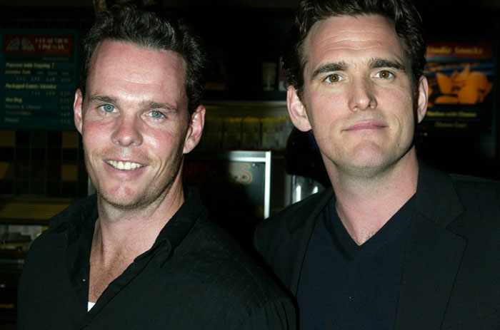 Matt Dillon With His Brother Kevin