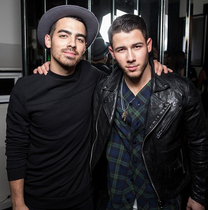 Nick Jonas And His Brother Joe