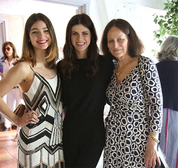 Alexandra Daddario With Her Sister Catharine
