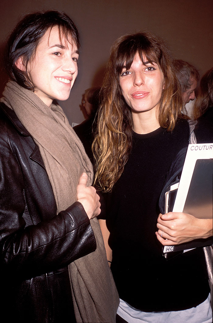 Sisters Charlotte Gainsbourg And Lou Doillon