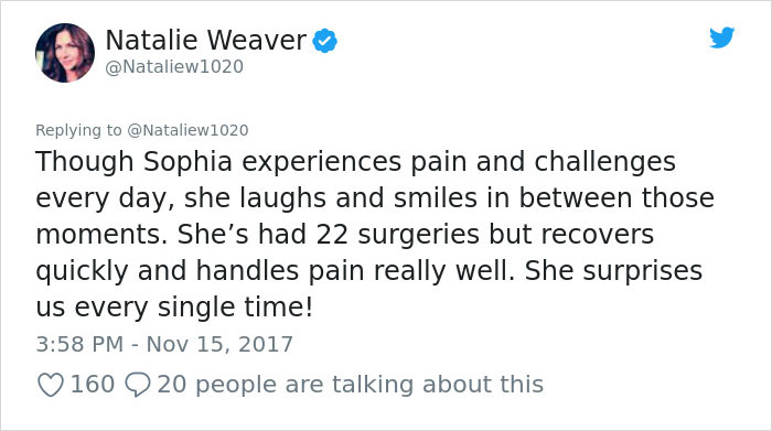 disabled-girl-sophia-abortion-promotion-twitter-natalie-weaver-north-carolina-40 This 9-Year-Old Girl's Face Was Used To Promote Abortion, So Her Mom Got Brilliant Revenge Design Random