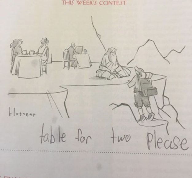 girl-new-yorker-cartoon-caption-bess-kalb-8 11 Funny Reasons Why The New Yorker Should Hire This 9-Year-Old Girl To Write All Their Cartoon Captions Design Random