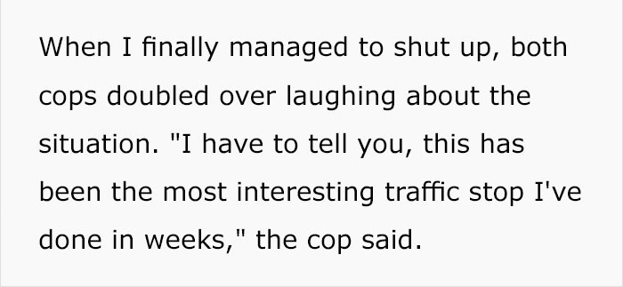 police-stop-murder-weapons-props-30 Guy Gets Pulled Over By Police, Suddenly Realizes He Has Murder Weapon Props In Passenger Seat Design Random
