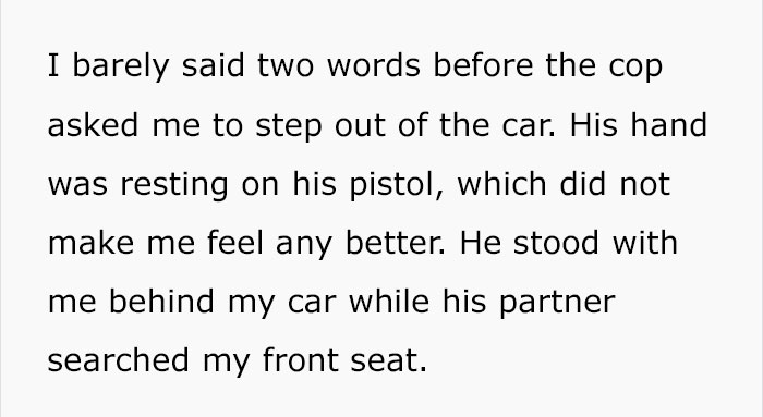 police-stop-murder-weapons-props-5-5ac4b7e73661e__700 Guy Gets Pulled Over By Police, Suddenly Realizes He Has Murder Weapon Props In Passenger Seat Design Random
