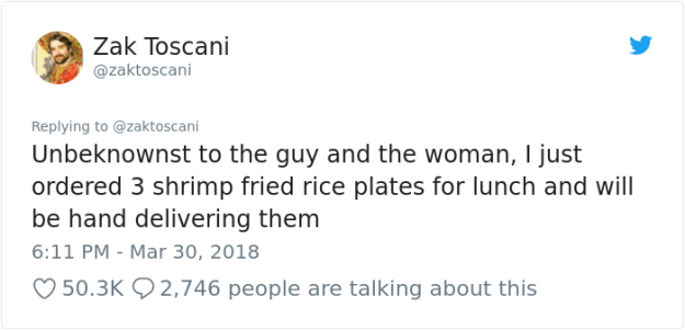 stolen-office-lunch-shrimp-fried-rice-zak-toscani-21 Guy's Lunch Gets Stolen At Work So He Asks To See The Security Tape, Can't Believe His Eyes Design Random