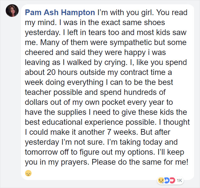 teacher-blames-parents-disrespectful-students-julie-marburger-texas-32 This Teacher Had Enough Of The BS Parents And Kids Give Her, So Before Quitting She Posted This Epic Rant Online Design Random