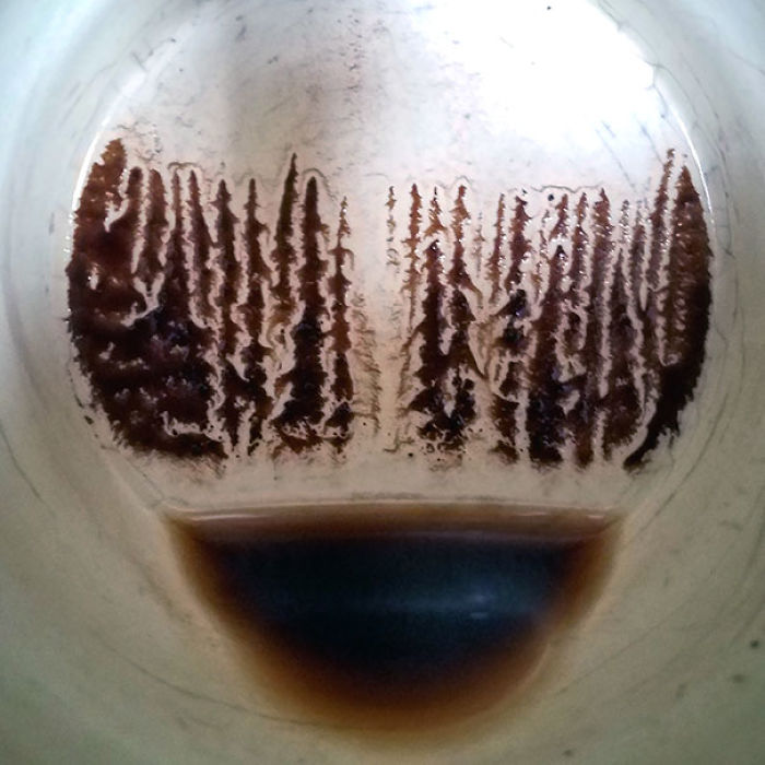 My Coffee Surprised Me With A Painting This Morning