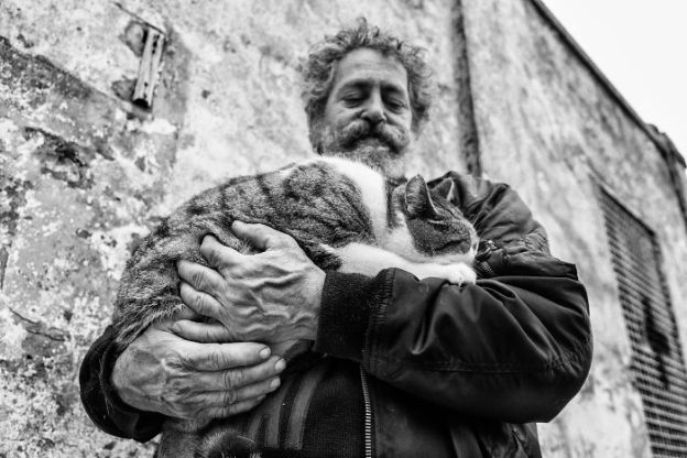 DSCF2494-5b02f1fd8a80f__700 I Photograph Men With Their Cats And The Result Is Cuteness Overload! Design Photography Random
