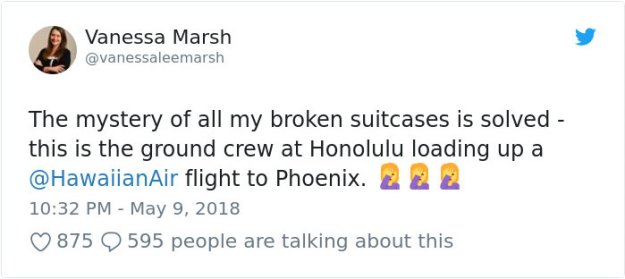airport-luggage-trowing-hawaiianair-1-5b0d0430ef8ea__700 Airline Passenger Films How Terribly They Handle Luggage, And It Escalates Quickly Design Random