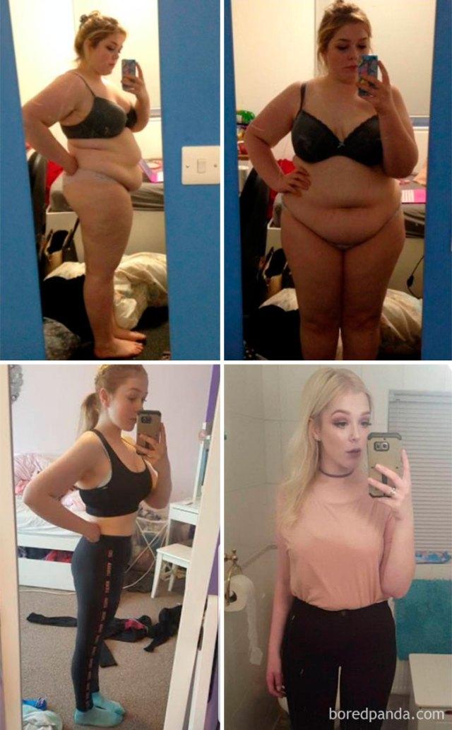 2 años, 45 kilos perdidos