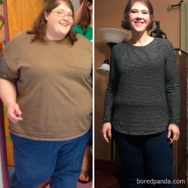 De 183 a 84 kilos